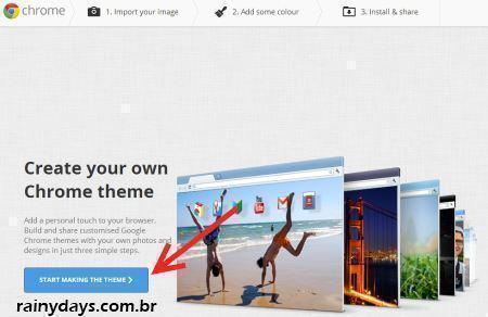 Como Criar Temas para o Google Chrome 2