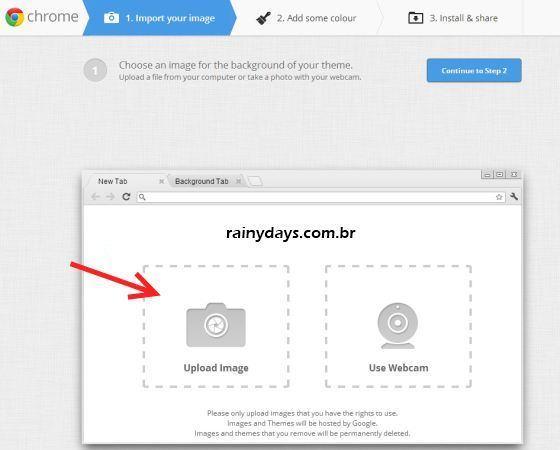 Como Criar Temas para o Google Chrome 3