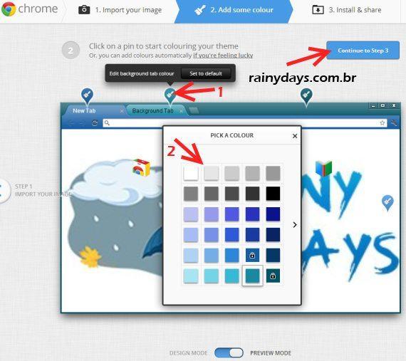 Como Criar Temas para o Google Chrome 5