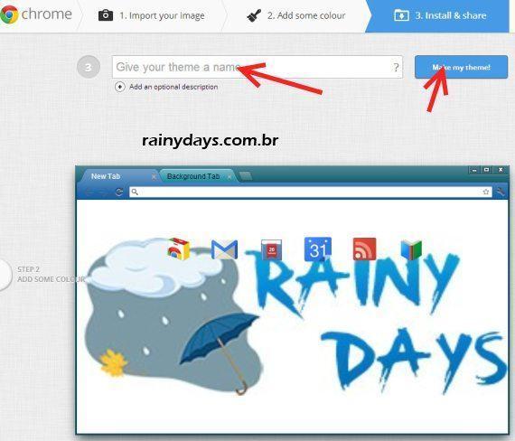 Como Criar Temas para o Google Chrome 6