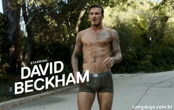 Curta-Metragem do David Beckham de Cueca H&M