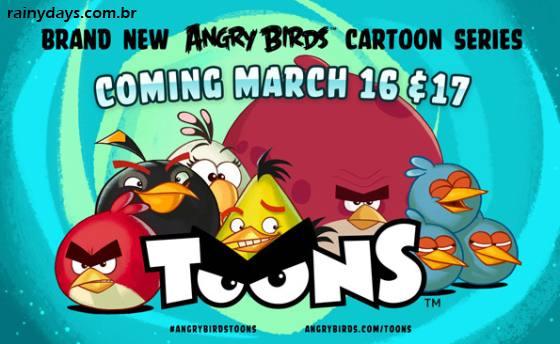 Desenho Animado do Angry Birds - Angry Birds Toons