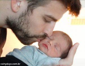 Foto do Milan Filho da Shakira e Gerard Pique