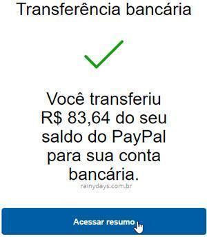 transferir dinheiro do PayPal para conta bancária 4