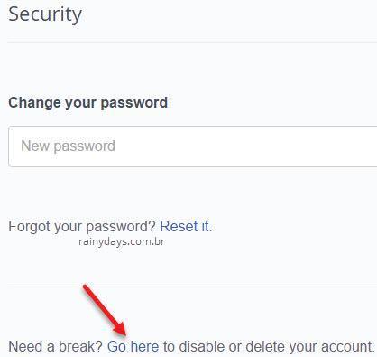 Excluir conta do OkCupid OKC 1