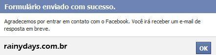 Recuperar Conteúdo do Facebook Após Reativar Conta 2
