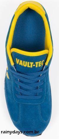 Tênis Vault 101 Baseado no Jogo Fallout 3