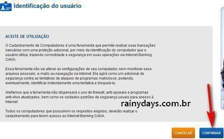 Acessar conta da CAIXA Firefox Windows 8