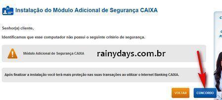 Como Acessar Conta da CAIXA no Windows 8 - 8