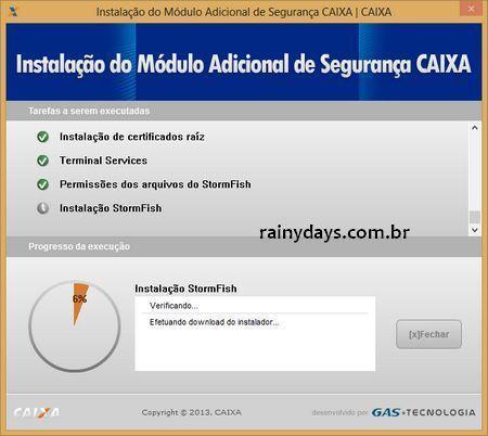 Como Acessar Conta da CAIXA no Windows 8 - 9