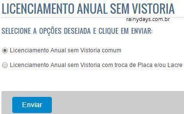 agendar licenciamento anual no Detran RJ 3