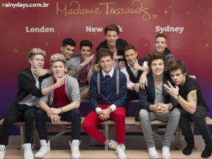 Bonecos de Cera do One Direction no Madame Tussauds