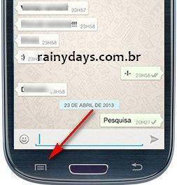 Como Fazer Busca no WhatsApp