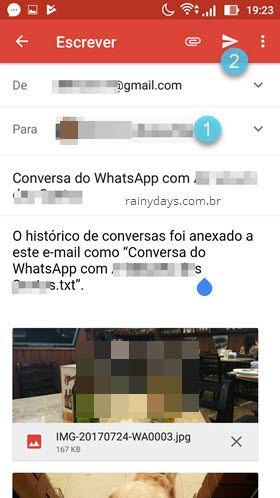 Como salvar conversas do WhatsApp no computador
