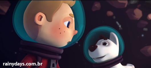 Curta de Animação Spacebound