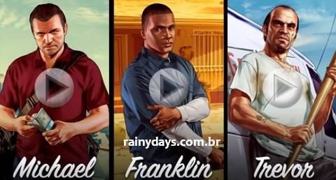 Trailers de Grand Theft Auto V