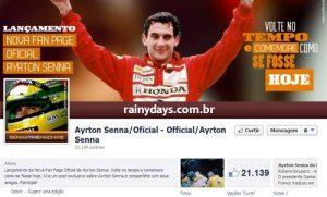 Ayrton Senna Oficial no Facebook