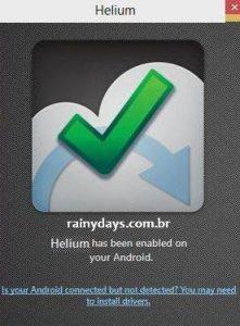 Backup de aplicativos do Android com Helium