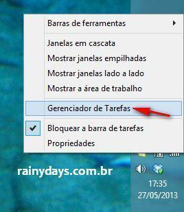 Desabilitar Programas Que Iniciam com Windows 8