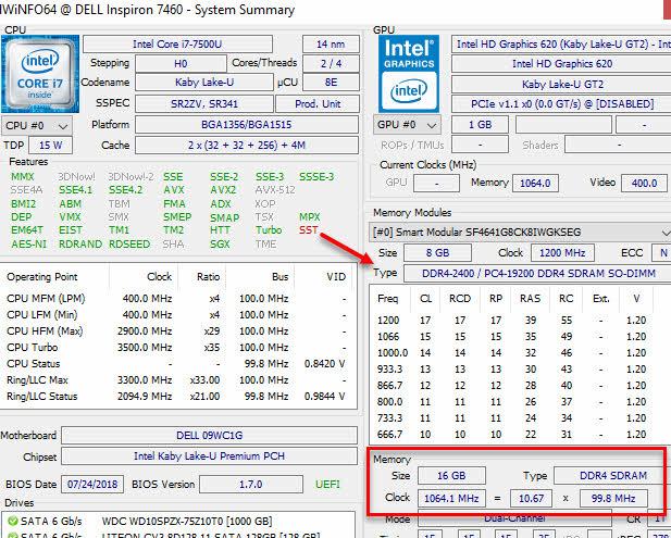 HWiNFO Descobrir tipo de memória RAM do computador