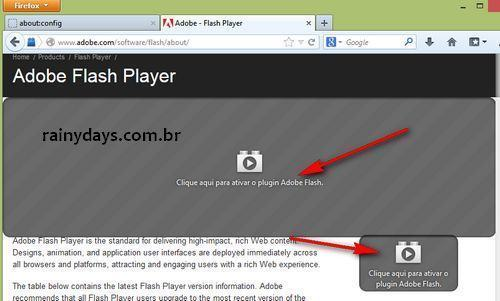 Habilitar Click-to-Play de Plugins no Firefox 3