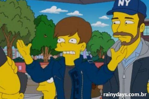 Justin Bieber nos Simpsons