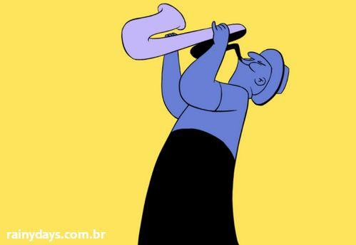 Curta de Animação Sax