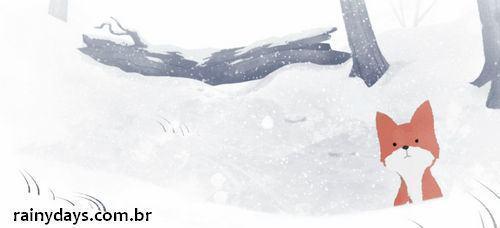 Curta de Animação Winter Fox