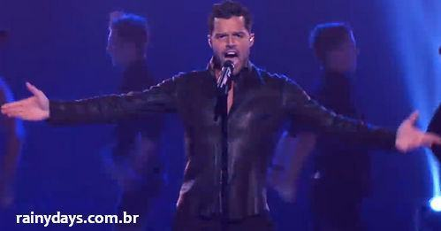 Ricky Martin cantando Come With Me no The Voice AU