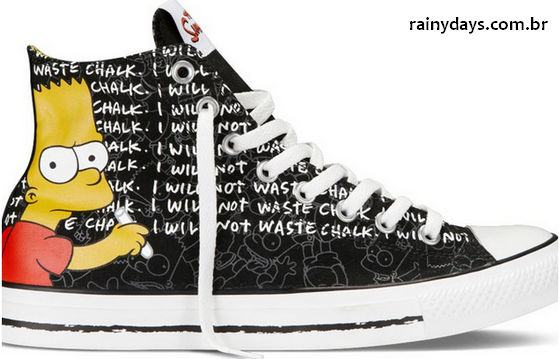 Simpsons Chuck Taylor All Star Collection