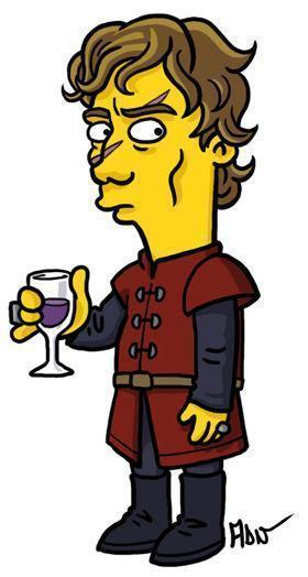 Tyrion- Lannister-game-of-thrones-simpsonizados