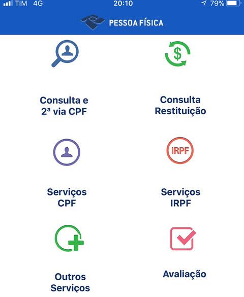 Como consultar restituição IRPF