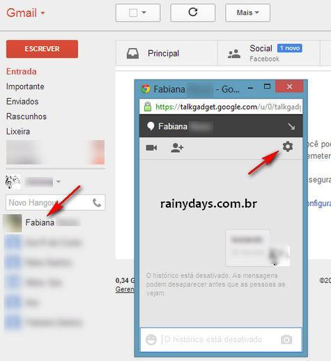 Bloquear Pessoas no Hangouts do Google