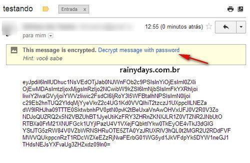 Criptografar Emails do Gmail com SecureGmail 4