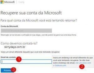 Como recuperar conta Microsoft hackeada ou bloqueada