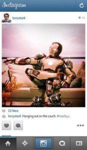 Se Super-Heróis Usassem Instagram