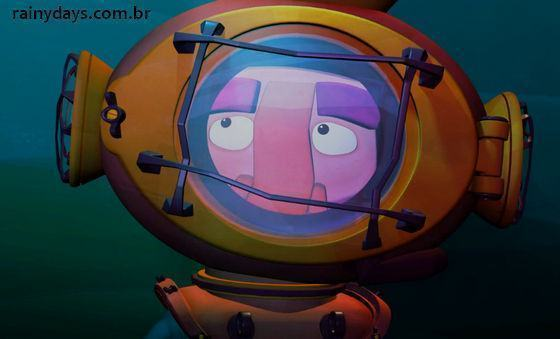 Curta de Animação The Man Who Saw a Boat