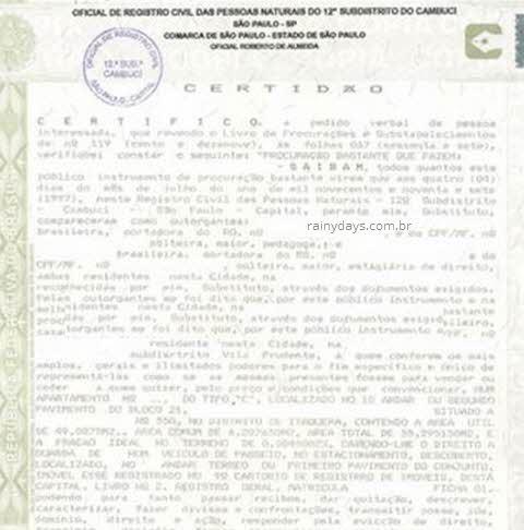 Como tirar Certidão de União Estável, declaração