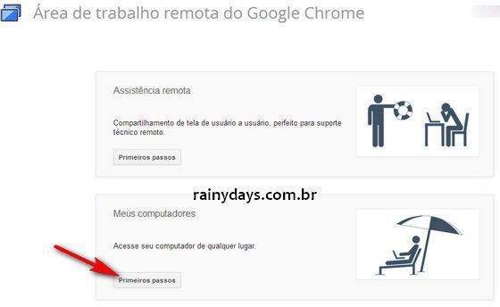 Usar Chrome para Acessar Computador a Distancia 4