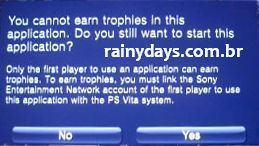 Como Ganhar Troféus em Jogos Usados do PS Vita