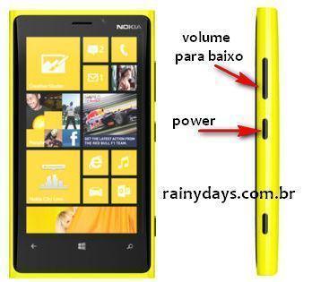 Resetar Nokia Lumia