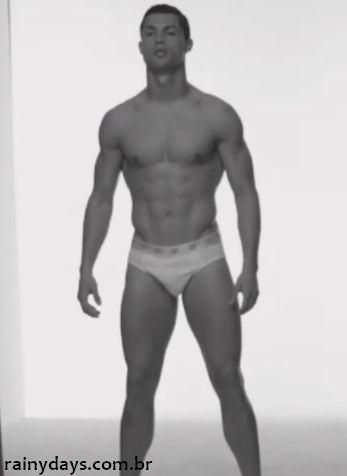 Cristiano Ronaldo de cueca