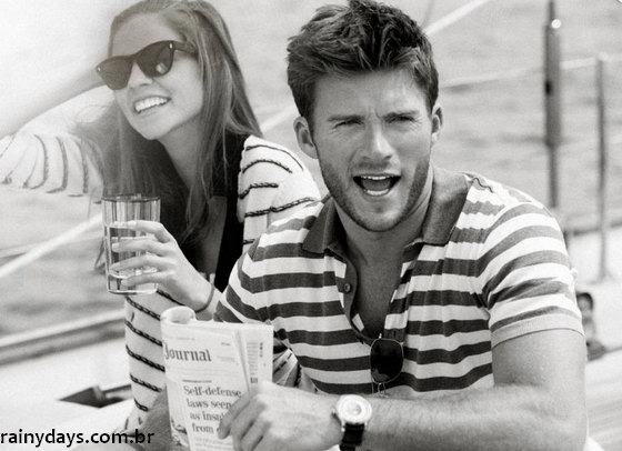 Gato Scott Eastwood Filho do Clint Eastwood