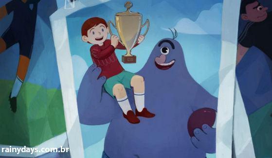 Curta de Animação The Boy and the Monster