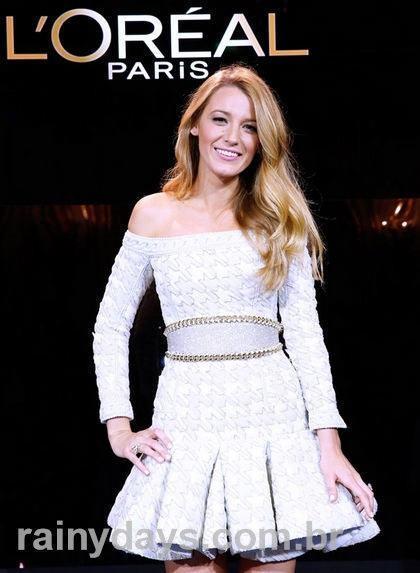 Blake Lively  nova porta voz L'Oreal Paris 1