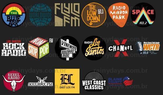 Escute as rádios de GTA V