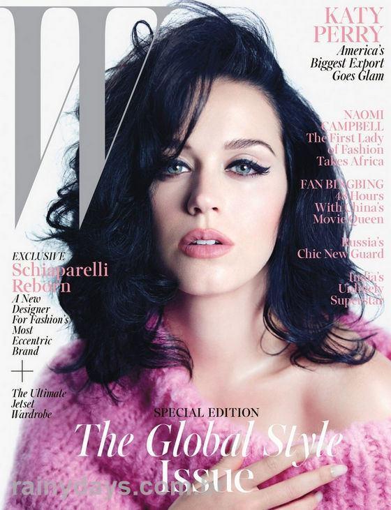 Katy Perry Sexy na Capa da W 2