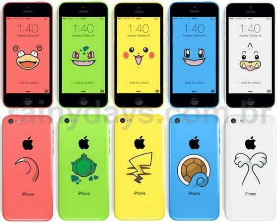 Transforme o iPhone 5c em Pokémon