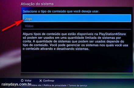 Desativar conta da PSN no PS3 (3)