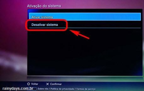 Desativar conta da PSN no PS3 (4)